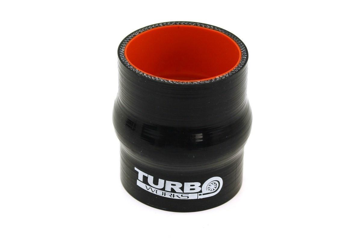 Łącznik antywibracyjny TurboWorks Pro Black 51mm - GRUBYGARAGE - Sklep Tuningowy